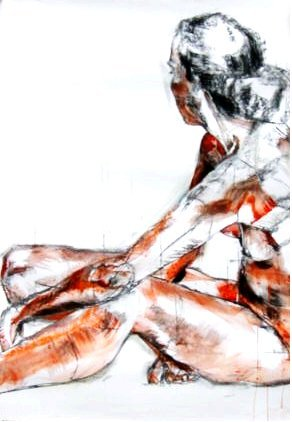 Nude I, 150 x 100 cm, 2006
