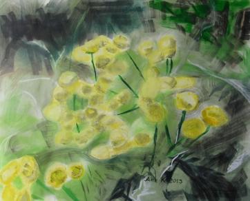 Tansy, 50 x 70 cm, 2013