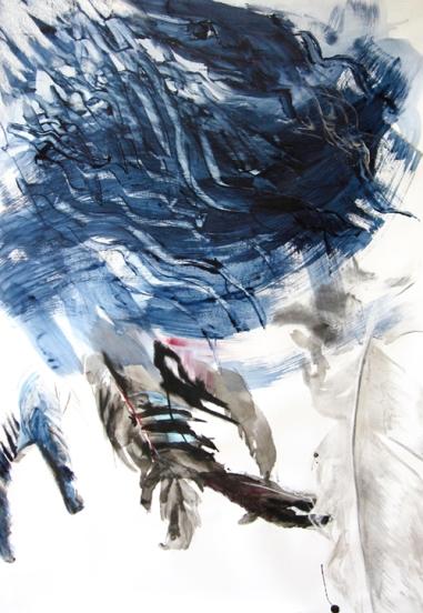 Feathers II, 150 x 100 cm, 2007