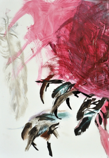 Feathers I, 100 x 70 cm, 2007